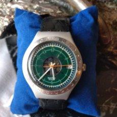 Relojes de pulsera: RELOJ ( MUY DIFÍCIL, SWATCH, IRONY ALUMINIO AG 1995 SWISS ), COLECC. ALTA. MÁS RELOJES EN MÍ PERFIL. Lote 167185081