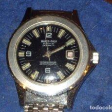 Relojes de pulsera: RELOJ MARCO POLO,FUNCIONANDO.. Lote 167430472