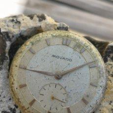 Relojes de pulsera: MOVIMIENTO RELOJ VINTAGE MOVADO/ZENITH AÑOS 50 PIEZAS. Lote 167718836
