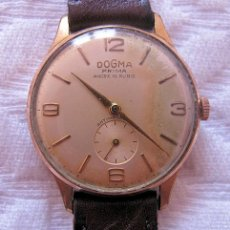 Relojes de pulsera: RELOJ DE CUERDA DOGMA PRIMA CABALLERO . Lote 167741412