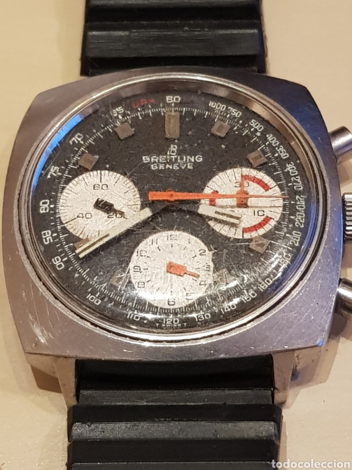 ANTIGUO RELOJ BREITLING 814 CRONÓGRAFO. TAL CUAL FOTOS. (Relojes - Pulsera Carga Manual)