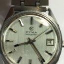 Relojes de pulsera: RELOJ CYMA NAVYSTAR CARGA MANUAL EN ACERO COMO NUEVO EN FUNCIONAMIENTO. Lote 167775961