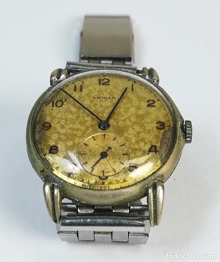 RELOJ DE CABALLERO. MARCA ZENITH. (CIRCA1950) SUIZA. (Relojes - Pulsera Carga Manual)