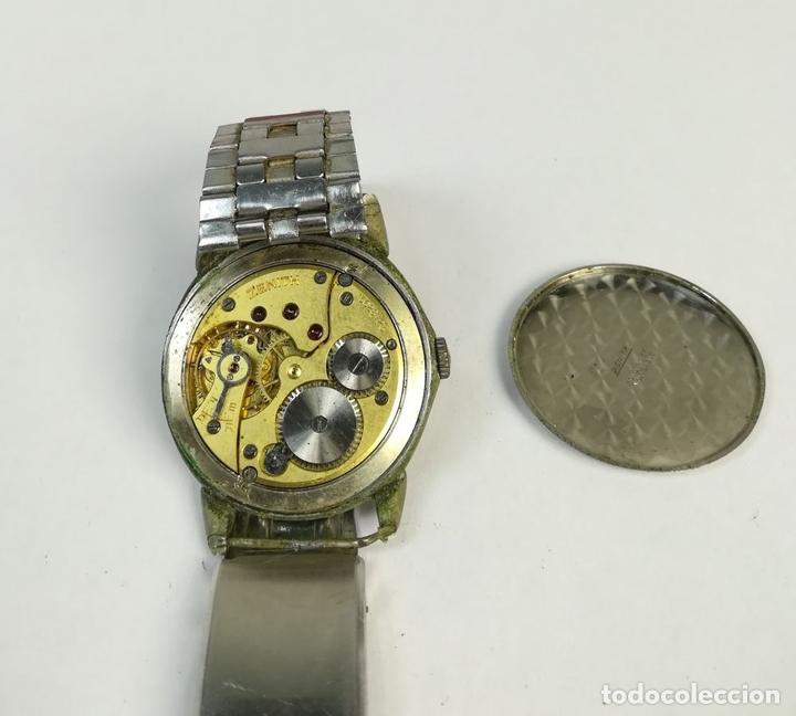 Relojes de pulsera: RELOJ DE CABALLERO. MARCA ZENITH. (CIRCA1950) SUIZA. - Foto 5 - 167822040