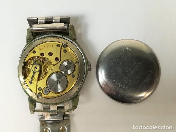 Relojes de pulsera: RELOJ DE CABALLERO. MARCA ZENITH. (CIRCA1950) SUIZA. - Foto 6 - 167822040