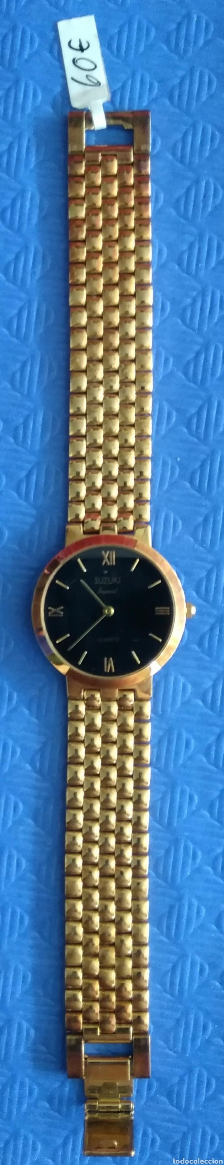 Relojes de pulsera: Reloj caballero Suzuki imperial chapado oro - Foto 2 - 167847209