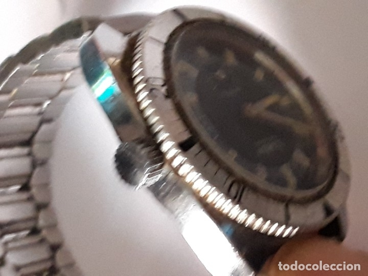 Relojes de pulsera: reloj de pulsera caballero carga manual vadur antichoc, funciona - Foto 4 - 167932936