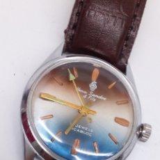 Relojes de pulsera: RELOJ HENRI SANDOZ & FILS CARGA MANUAL. Lote 187146193