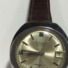 Relojes de pulsera: RELOJ TITAN AÑO 60 MAQUINARIA SUIZA. Lote 167951228
