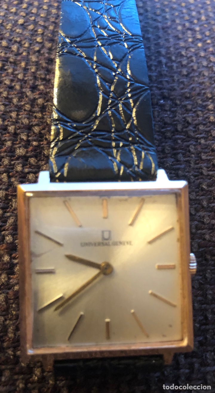 Relojes de pulsera: Reloj de pulsera, de carga manual, Universal Geneve. Armis original - Foto 3 - 167995060