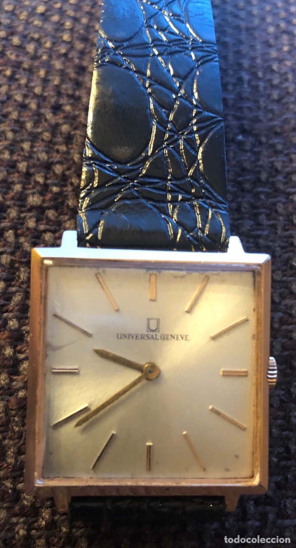 Relojes de pulsera: Reloj de pulsera, de carga manual, Universal Geneve. Armis original - Foto 4 - 167995060