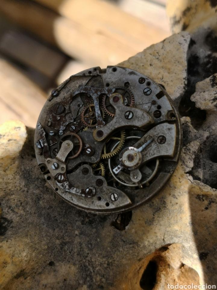 MAQUINARIA CRONOGRAFO VINTAGE PIEZAS AÑOS 40/50 (Relojes - Pulsera Carga Manual)