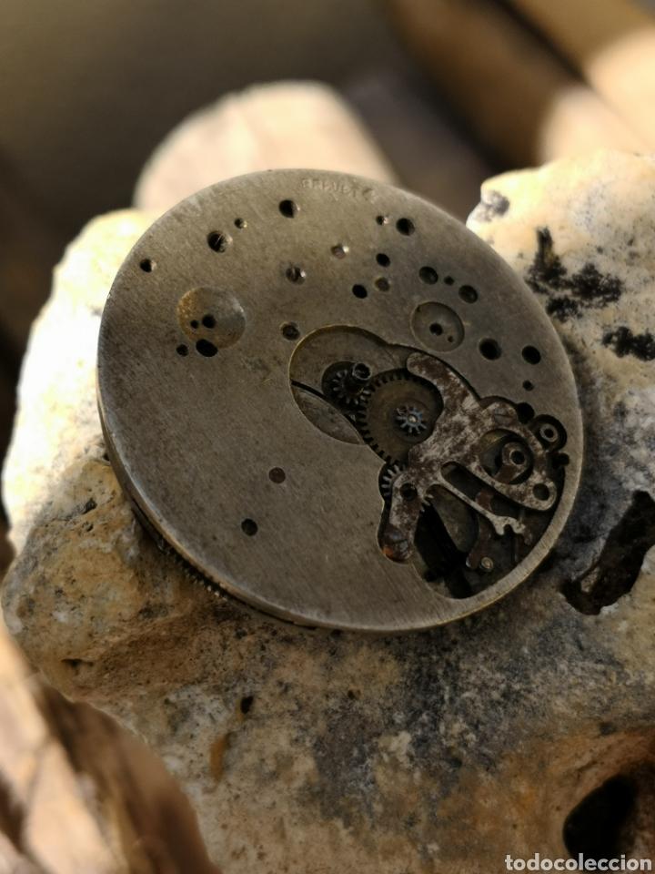 Relojes de pulsera: Maquinaria cronografo vintage PIEZAS años 40/50 - Foto 4 - 167995093