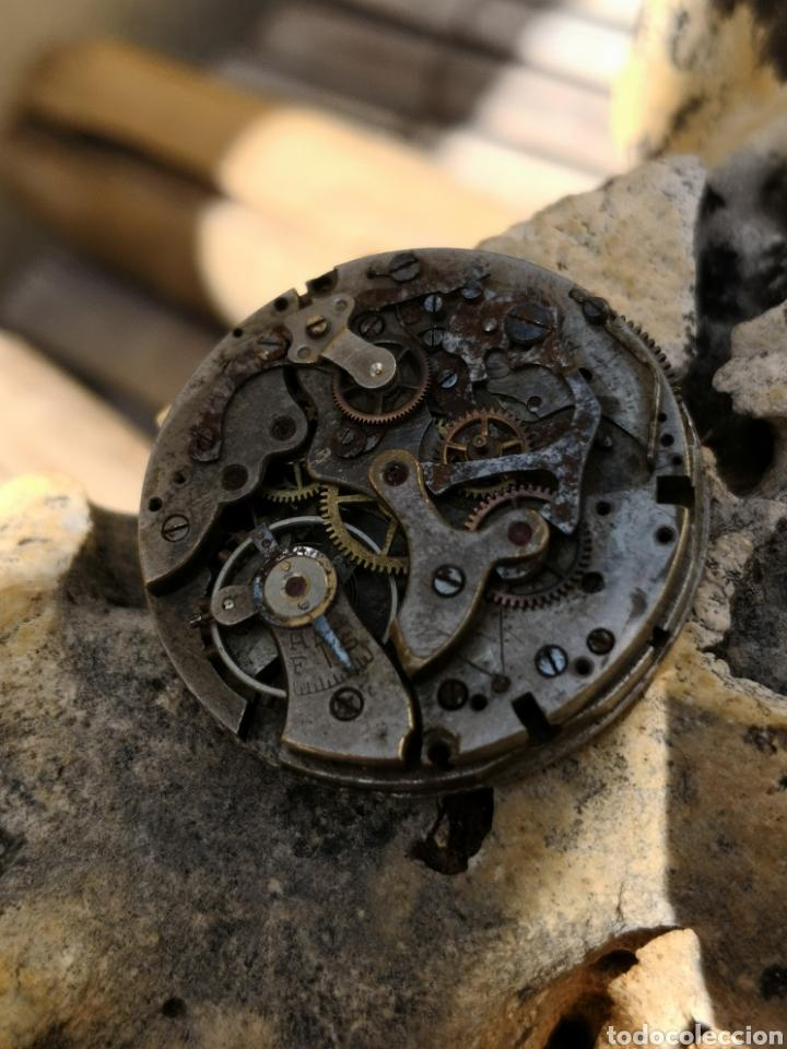 Relojes de pulsera: Maquinaria cronografo vintage PIEZAS años 40/50 - Foto 5 - 167995093