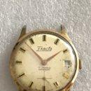 Relojes de pulsera: RELOJ EXACTO CALENDARIO CARGA MANUAL VINTAGE. Lote 168113686