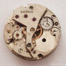 Relojes de pulsera: ANTIGUA MAQUINARIA DE RELOJ DOGMA PARA REPARAR O DESPIECE .. Lote 168363208