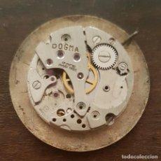 Relojes de pulsera: ANTIGUA MAQUINARIA DE RELOJ DOGMA REPARAR O DESPIECE 23MM Y ESFERA 32MM. Lote 168384332