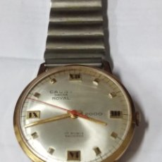 Relojes de pulsera: RELOJ CAUNY ROYAL 2000. 17 RUBIS FUNCIONANDO. Lote 168478840