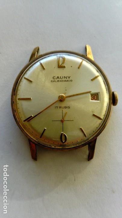 Relojes de pulsera: Reloj Cauny Prima Calendario - Foto 2 - 168499272