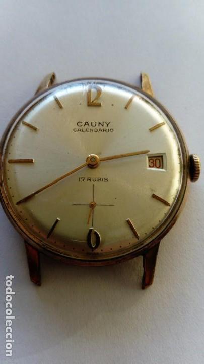 RELOJ CAUNY PRIMA CALENDARIO (Relojes - Pulsera Carga Manual)