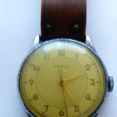 Relojes de pulsera: RELOJ TURIA. NO FUNCIONA. . Lote 168616344