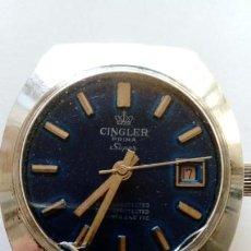 Relojes de pulsera: RELOJ CINGLER PRIMA SUPER. Lote 168738708