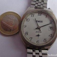 Relojes de pulsera: ANTIGUO AÑOS 60 Y PRECIOSO RELOJ CUERDA DUWARD, JUNIOR MUY BUEN ESTADO FUNCIONANDO. Lote 169212056