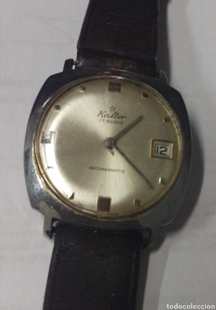 RELOJ VINTAGE KALTER 17 RUBIS. 32 MM. (Relojes - Pulsera Carga Manual)