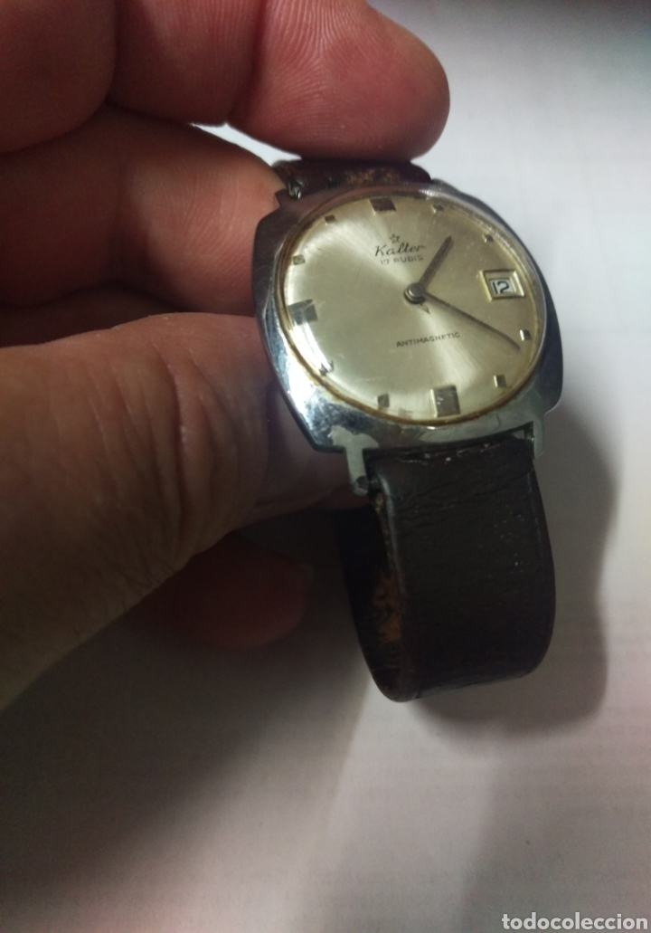 Relojes de pulsera: RELOJ VINTAGE KALTER 17 RUBIS. 32 MM. - Foto 4 - 169305132