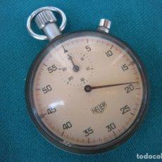 Relojes de pulsera: CRONÓMETRO HEUER FUNCIONA. Lote 169329188