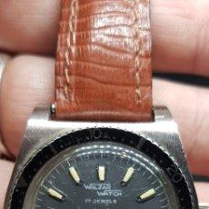 Relojes de pulsera: RELOJ DE SUBMARINISMO WALZAR WATCH SUIZO CARGA MANUAL. Lote 169447009