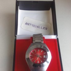 Relojes de pulsera: RELOJ PULSERA A CUERDA MARCA YASHICA,FUNCIONANDO,AÑOS 70'.ART.2. Lote 169826864