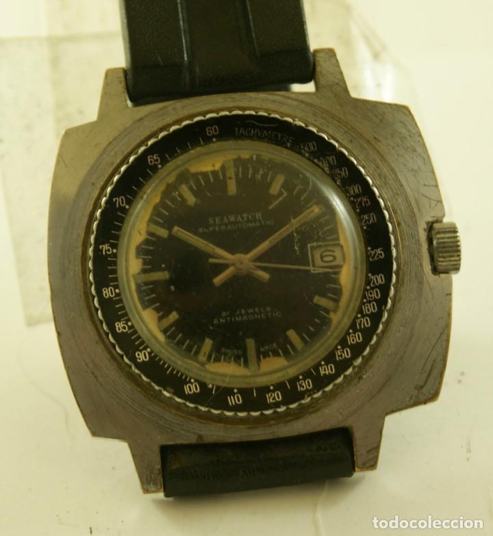 SEAWATCH MECANICO BISEL TIPO DIVER 43MM (Relojes - Pulsera Carga Manual)