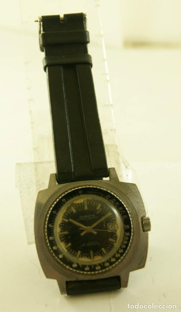 Relojes de pulsera: SEAWATCH MECANICO BISEL TIPO DIVER 43MM - Foto 2 - 169899220