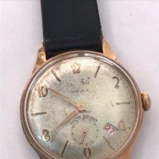 Relojes de pulsera: RELOJ CARGA MANUAL VINTAGE CALENDARIO VINTAGE. Lote 169998530