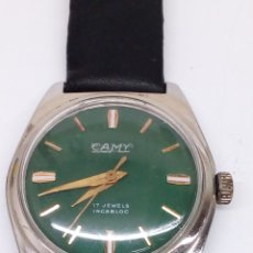 Relojes de pulsera: RELOJ CAMY CARGA MANUAL. Lote 170079108