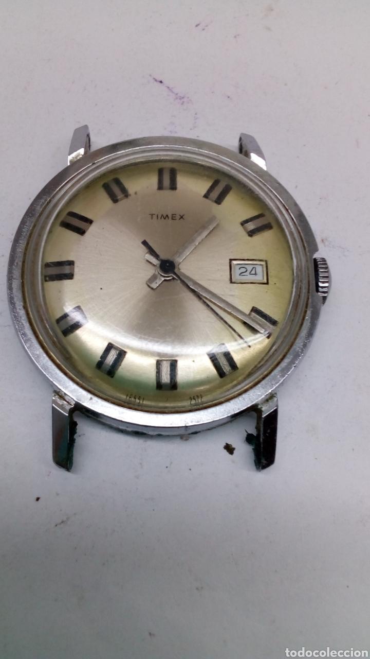 Relojes de pulsera: Reloj Timex carga manual para piezas - Foto 2 - 170096672