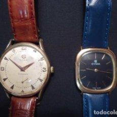 Relojes de pulsera: 2 RELOJES PULSERA, CYMA, CUERDA MANUAL, FUNCIONANDO.. Lote 170197968