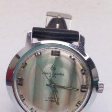 Relojes de pulsera: RELOJ HENRI SANDOZ & FILS CARGA MANUAL. Lote 170205688
