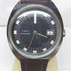 Relojes de pulsera: RELOJ CLÁSICO TIMEX DE CARGA MANUAL - CAJA 34 MM - FUNCIONANDO. Lote 170207756