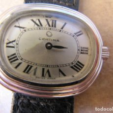 Relojes de pulsera: ANTIGUO RELOJ DE CUERDA CERTINA. Lote 170321948