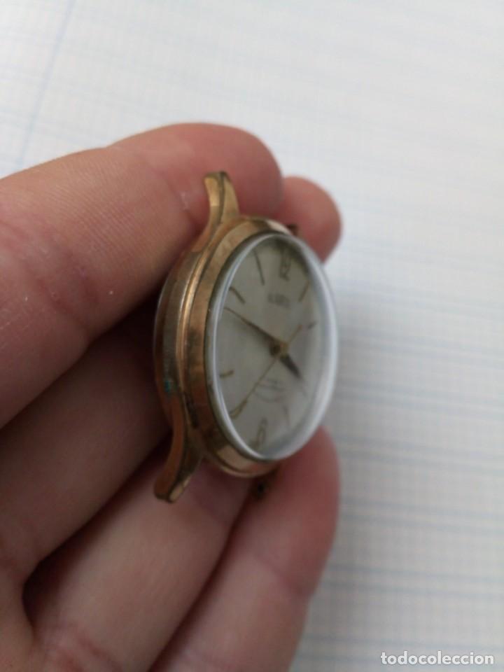 Relojes de pulsera: Reloj antiguo Gladiator de carga manual, eje volante bien pero no funciona, para reparar - Foto 2 - 170361284