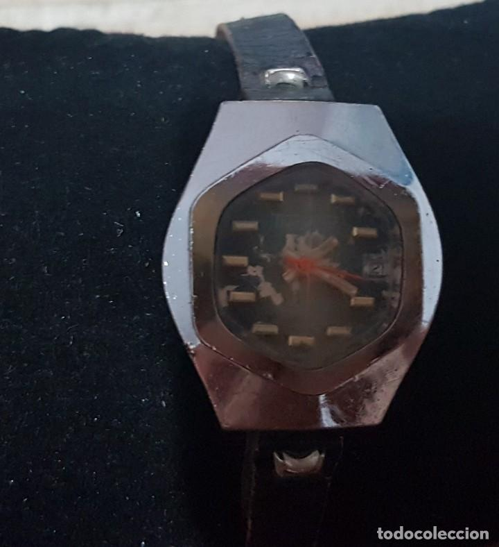 Relojes de pulsera: Antiguo reloj de señora Thermidor 17 rubis para reparar o despiece 28 mm - Foto 3 - 170374844