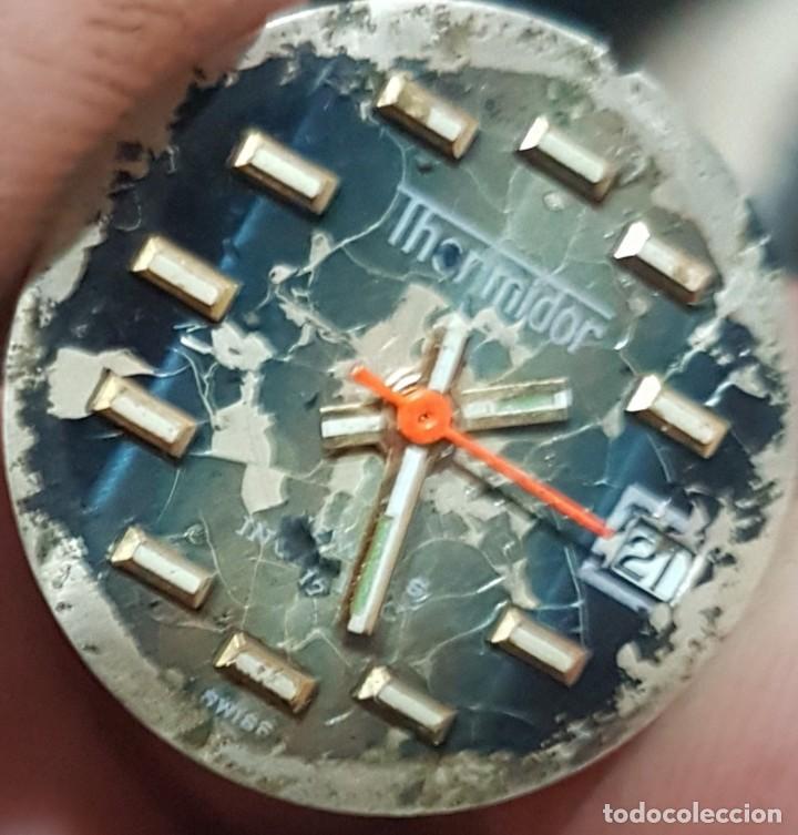 Relojes de pulsera: Antiguo reloj de señora Thermidor 17 rubis para reparar o despiece 28 mm - Foto 5 - 170374844