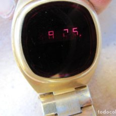Relojes de pulsera: ANTIGUO RELOJ DIGITAL DE LOS AÑOS 70 DE LED. Lote 170389948