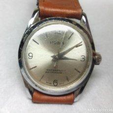 Relojes de pulsera: RELOJ HOBA DE CARGA MANUAL ONE JEWELL, SWISS - CAJA 3 CM - FUNCIONANDO. Lote 170404624