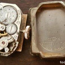 Relojes de pulsera: ANTIGUO RELOJ SEÑORA DOGMA 18MM 15 RUBIS REPARAR O DESPIECE. Lote 170437088