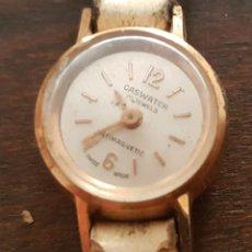 Relojes de pulsera: ANTIGUO RELOJ SEÑORA CASWATCH 17 RUBIS 17 MM PARA REPARAR O DESPIECE. Lote 170438896