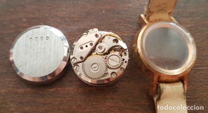 Relojes de pulsera: Antiguo reloj señora Caswatch 17 rubis 17 mm para reparar o despiece - Foto 3 - 170438896