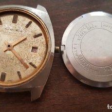 Relojes de pulsera: ANTIGUO RELOJ WELINGTON 34MM PARA REPARAR O DESPIECE. Lote 170441656